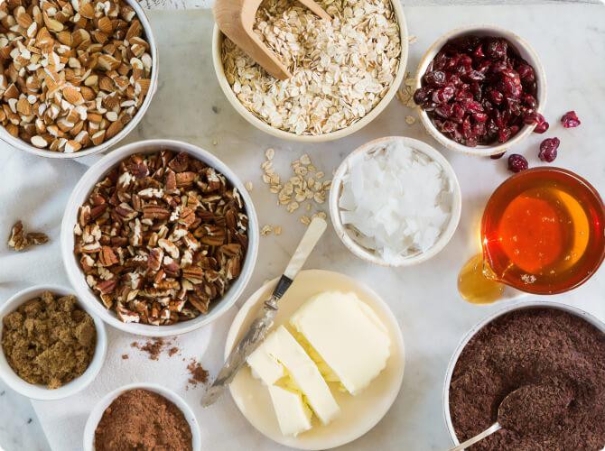 Натуральные ингредиенты в Пекарнях Хлеберев